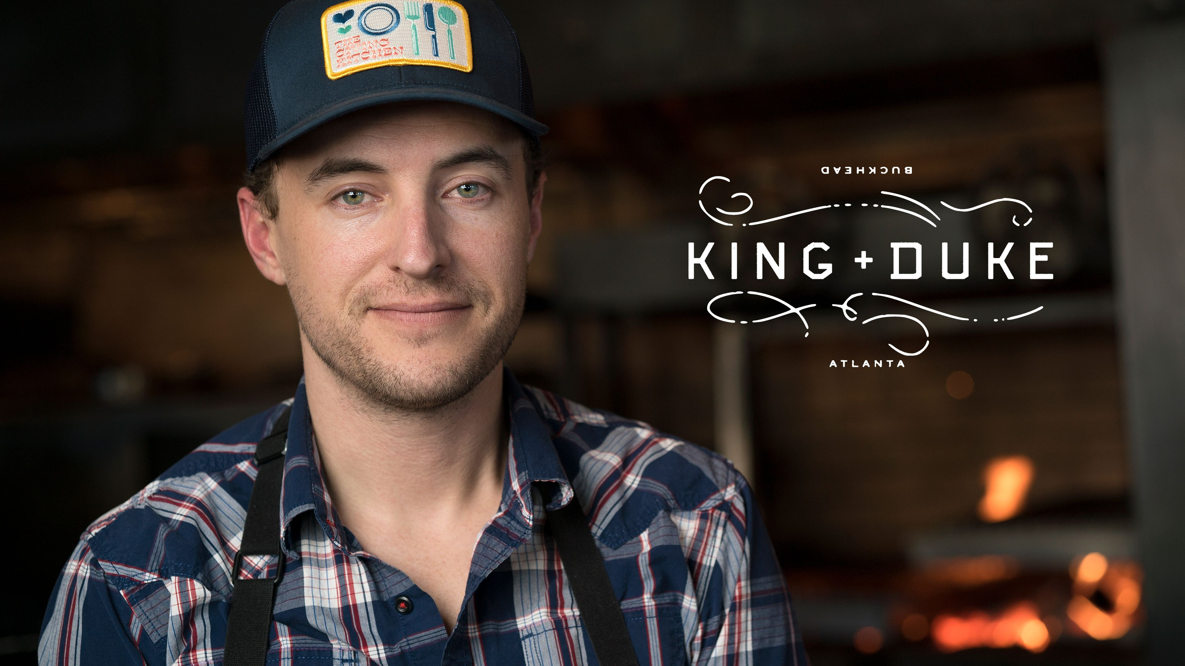 Executive Chef EJ Hodgkinson brings a lifelong passion for sustainable, organic food to the open-fire menu at King + Duke